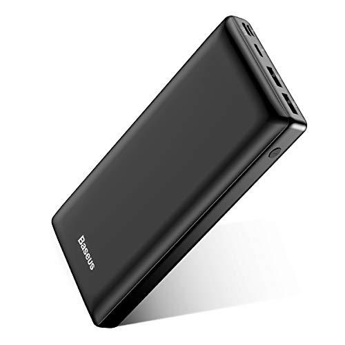 Baseus Bateria Externa para Movil 30000mAh,PowerBank,Power Bank Bateria Portatil Movil USB C Carga...
