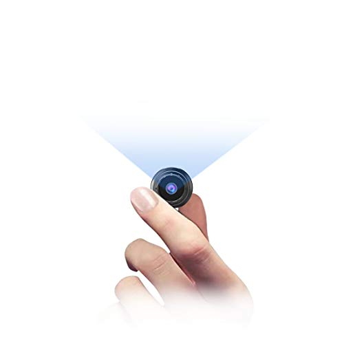 MHDYT Mini Camara Espia Oculta, 1080P HD Micro Camara Vigilancia Grabadora de Video Portátil con IR...