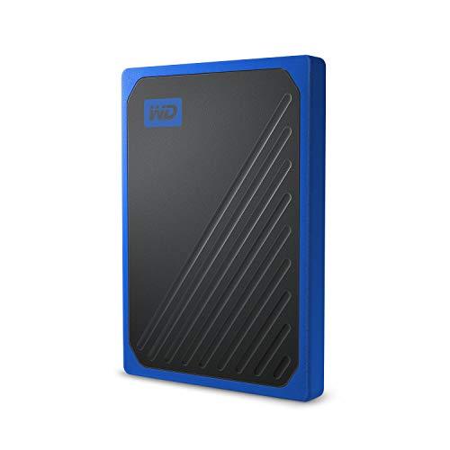 WD My Passport Go 500 GB, disco duro sólido externo - acabado cobalto