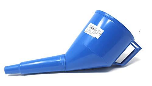 Embudo con filtro aceite Embudo Embudo de aceite plástico Combustible Gasolina Diesel Agua...