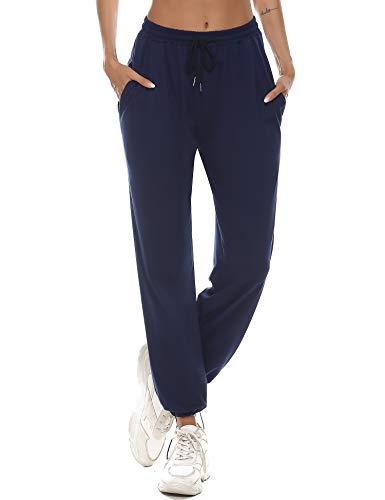 Aibrou Pantalón Chándal Mujer, Pantalones Chándal Largos Pantalon Chandal Mujer Invierno Pantalon...
