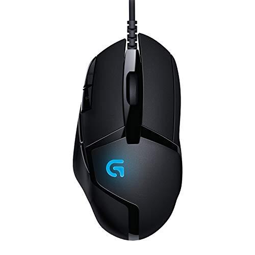 Logitech G402 Hyperion Fury Ratón Gaming con Cable, Seguimento Óptico 4,000 DPI, Peso Reducido, 8...