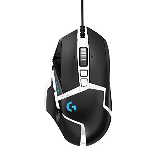 Logitech G502 HERO Ratón Gaming Edición Especial con Cable Alto Rendimiento, Captor HERO 25K,...