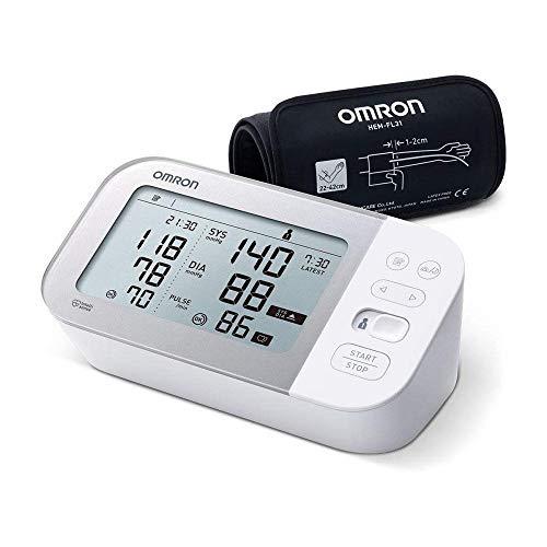Omron Tensiómetro X7 Smart, monitor para la presión arterial con detector de AFib y Bluetooth,...
