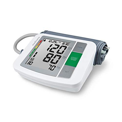 Medisana BU 510 - Tensiómetro para el brazo, pantalla de arritmia, escala de colores de los...