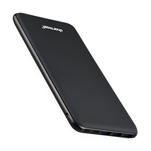 Charmast 26800mAh Powerbank Batería Externa Tipo C Micro USB Slim Cargador Portátil Móvil con 4...
