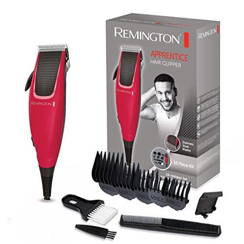 Remington Apprentice Máquina de Cortar Pelo - Cortapelos con Cable, Cuchillas de Acero Inoxidable,...