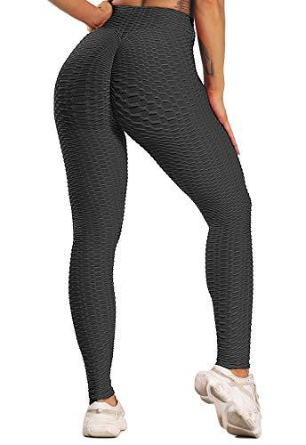 FITTOO Leggings Push Up Mujer Mallas Pantalones Deportivos Alta Cintura Elásticos Yoga Fitness...