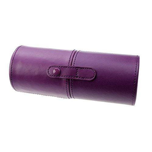 Grifri - Estuche cilíndrico para brochas de maquillaje, 18 x 7 cm, 1 unidad