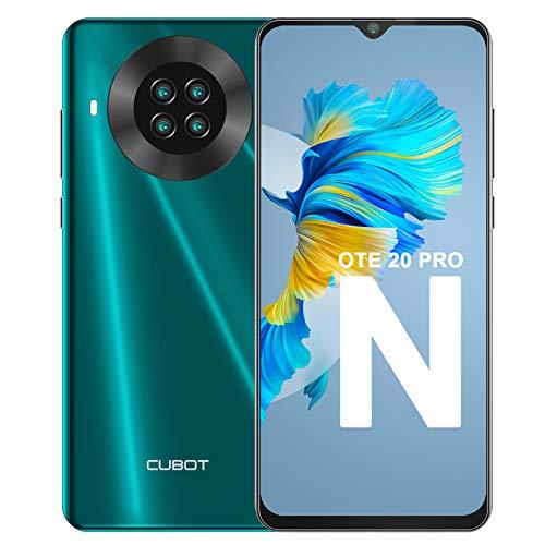 Teléfono Móvil Libre, CUBOT Note 20 Pro Smartphone 4G Android 10.0 Dual SIM 6,5 Pulgadas 6GB...