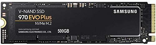 Samsung MZ-V7S500BW 970 EVO Plus - Unidad SSD, 500GB, M.2, NVMe, tamaño 2.5', Interfaz SATA...