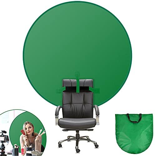 Niumowang Fondos fotográfico, 56in (142cm) Green Screen, Pantalla Verde, Tela Verde Chroma Fijar en...