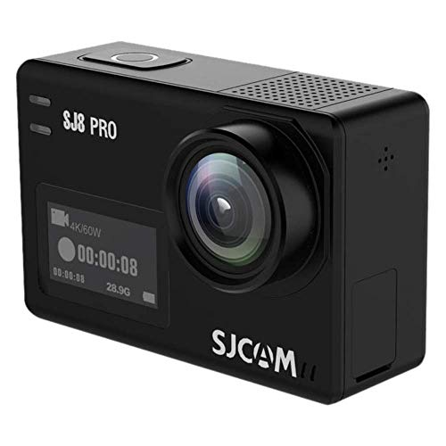 SJCAM SJ8 Pro Digital Action Camera with Touchscreen 60fps 4k Ultra Full HD EIS Stabilized Raw Image...