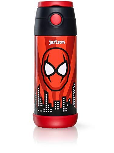 Jarlson Botella Agua sin bpa niños , Botellas Agua Acero Inoxidable - termica , a Prueba de Fugas ,...