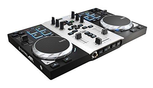 DJ Hercules DJ Control Air S Series - Controlador DJ [USB ultraportátil con salidas de audio, 8...