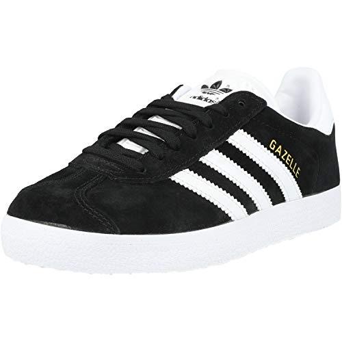 adidas Gazelle, Zapatillas de deporte Unisex Adulto, Varios colores (Core Black/White/Gold Metalic),...