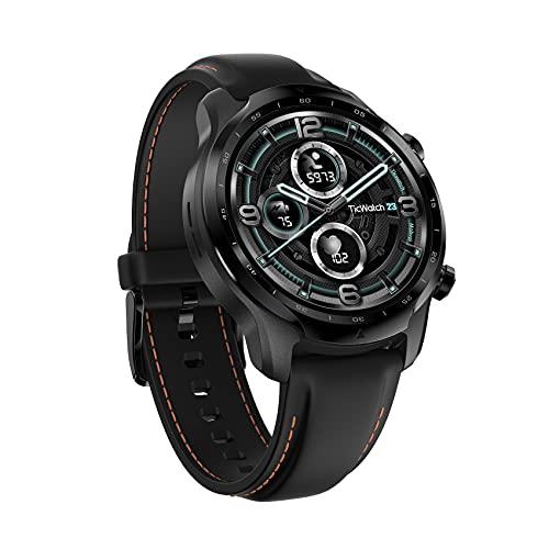 TicWatch Pro 3 Reloj inteligente con GPS para hombres y mujeres, Wear OS by Google, Pantalla de...