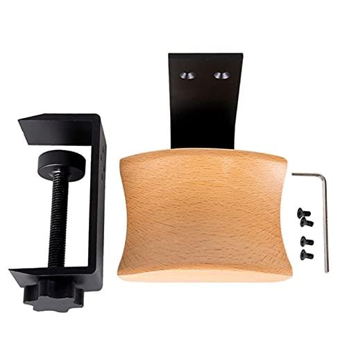Tenedor de auriculares de madera maciza for auriculares universal for auriculares for juegos de...