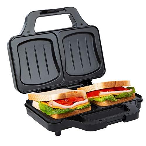 Ultratec Sandwichera, sandwichera eléctrica, tostadora sandwichera para tostadas XXL, placas...