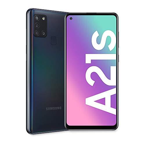 Samsung Galaxy A21s - Smartphone de 6.5' (4 GB RAM, 64 GB de memoria interna, WiFi, Procesador Octa...