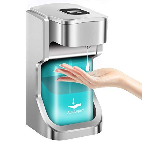 jojobnj Dispensador Automatico Dispensador 500 ml Dispensador Automático de Gel Dispensador de Gel...