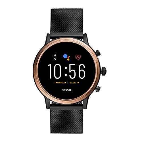 Fossil Connected Smartwatch Gen 5 + GEN 5E para Mujer con Tecnología Wear OS de Google, Frecuencia...