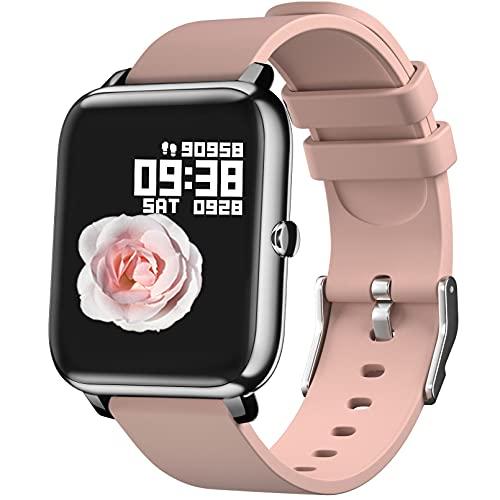 Reloj Inteligente Hombre Mujer , IDEALROYAL Smartwatch Mujer con Oxígeno Sanguíneo Presión...