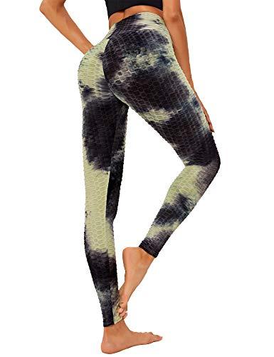 Sykooria Leggings Push Up para Mujer Mallas de Yoga de Alta Cintura Pantalones Deportivos de...