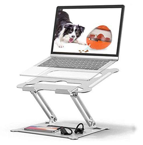 Soporte de Portátil,Tokmali Aluminio Soporte para Laptop Portátil Plegable y Ajustable Soporte...