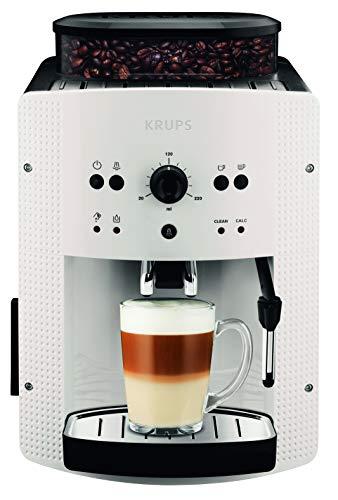 Krups Roma EA8105, Cafetera automática 15 bares de presión, 1450 V, 1.6 L, acero inoxidable