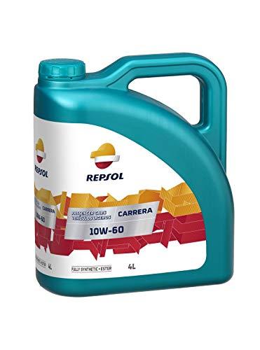 REPSOL Carrera 10W60 Aceite De Motor Para Coche, 4L