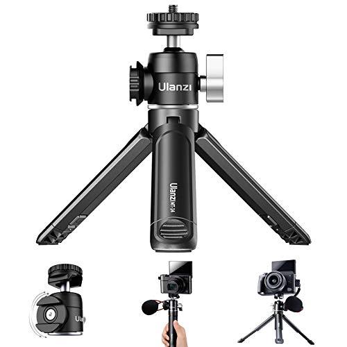 Mini Trípode Actualizado+Soporte de Cabeza Esférica,Selfie Stick Extensible con Doble Zapata Fría...
