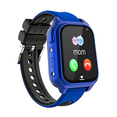 Impermeable GPS Smartwatch para Niños, IP67 Impermeable Reloj inteligente Phone con GPS LBS Tracker...
