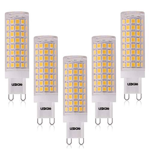LEDGLE 10W G9 Bombillas LED, Equivalente a Halógeno de 100W, 100 LEDs, 900lm Blanco Cálido 3000K,...
