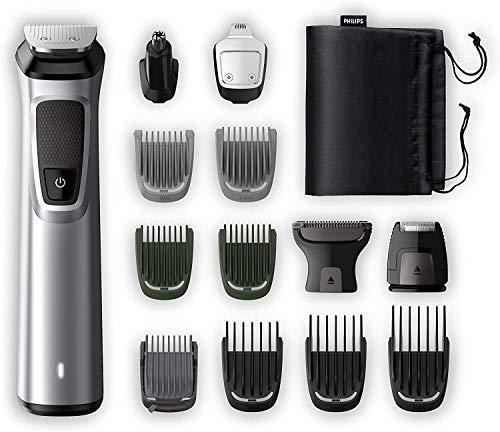 Philips MG7720/15 Recortadora 14 en 1 Maquina recortadora de barba y Cortapelos para hombre, óptima...