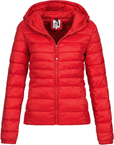 Only Onltahoe Hood Jacket Otw Noos Chaqueta, Rojo (Goji Berry Goji Berry), 38 (Talla del Fabricante:...