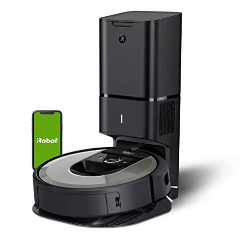 Robot aspirador iRobot Roomba i7+ (i7556) con Vaciado automático, Alta potencia, Para mascotas,...