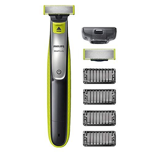 Philips OneBlade QP2530/30 - Recortador de Barba con 4 Peines de 1,2,3,4,5 mm Longitudes, Incluye...