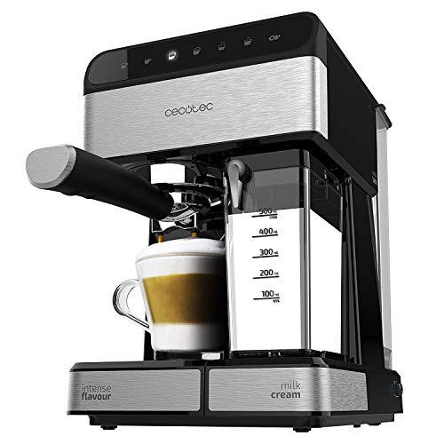 Cecotec Power Instant-ccino 20 - Cafetera Semiautomatica, Presión 20 Bares, Capacidad de 1,4l, 6...