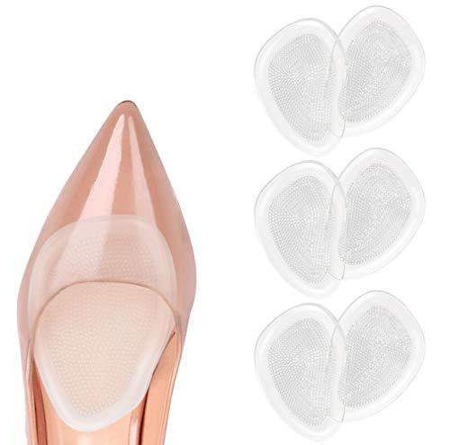 URAQT Plantillas de Zapatos con Tacón Alto Proteger los Pies, Almohadillas para los pie, Medio...