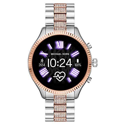 Michael Kors Lexington Connected Smartwatch Gen 5 con tecnología Wear OS de Google, altavoz,...