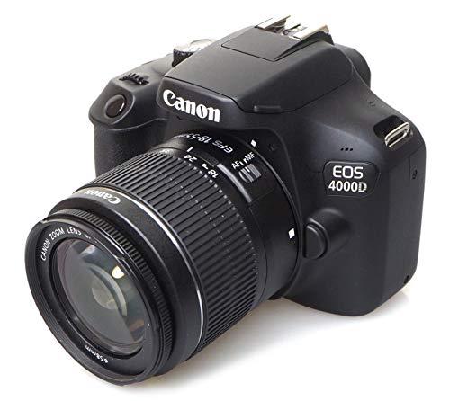 Canon EOS 4000d 18–55See cámara, Negro