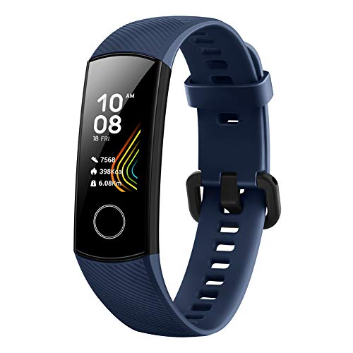 HONOR Band 5 Smartwatch, Pulsera Actividad Inteligente Impermeable IP68 con Pulsómetro, Monitor de...