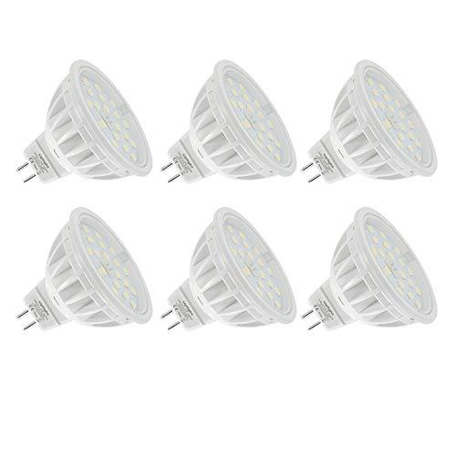 Uplight MR16 LED Bombillas Gu5.3 Destacar,5.5W Blanco Natural 4000K Equivalente 60W Luz...