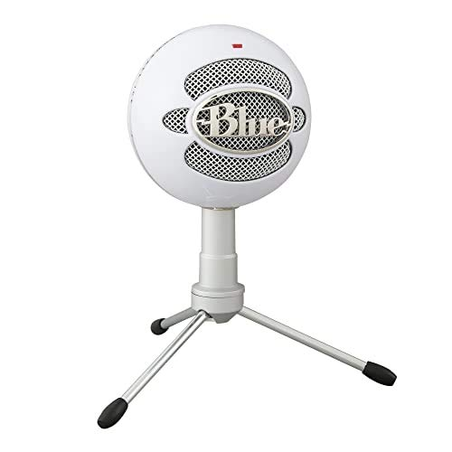 Blue Micrófono USB Snowball ICE Plug'n Play para grabación, podcasting, broadcasting, streaming de...