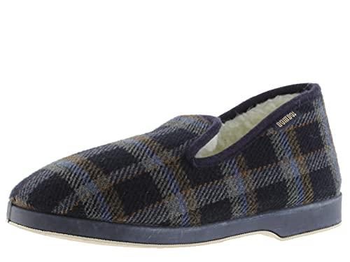 victoria Alpargata WAMBA Confortable Zapatilla DE CASA Textil Cuadros H/Torcido 202001-WOMEN para...