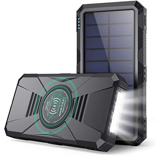 Power Bank 30800mAh Batería Externa Movil con【15W Carga Inalambrica + Dual QC 4.0 + PD 25W Carga...