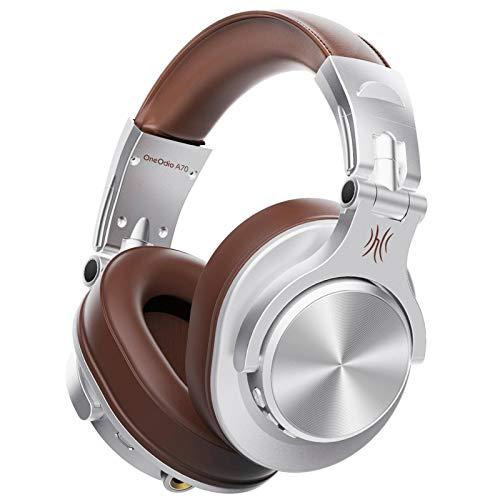 N\C Auriculares Bluetooth Stereo Over Ear Auriculares inalámbricos Monitor de Estudio de grabación...