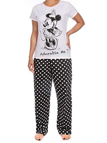Minnie Mouse - Pijama para mujer - Talla S