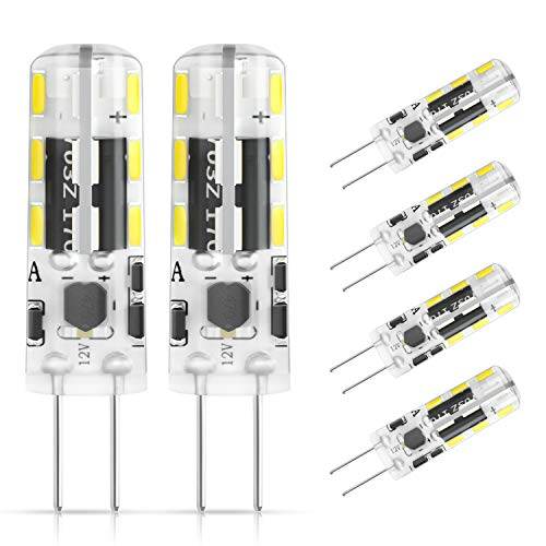 DiCUNO Bombilla LED G4, 6 × 1.2W 24 * 3014 equivalente a la lámpara halógena de 10W, No...